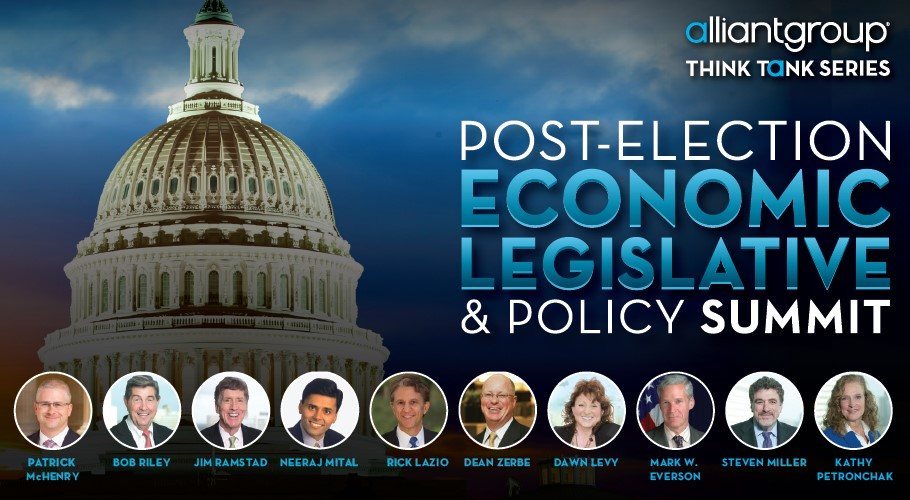 alliantgroup Hosts U.S. Congressman Patrick McHenry and over 100 CEOs, Executives, Policy Experts, and Accounting and Finance Partners at Post-Election Economic, Legislative & Policy Summit - alliantgroup